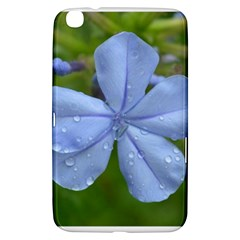 Blue Water Droplets Samsung Galaxy Tab 3 (8 ) T3100 Hardshell Case  by timelessartoncanvas