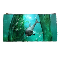 Wonderful Dolphin Pencil Cases by FantasyWorld7