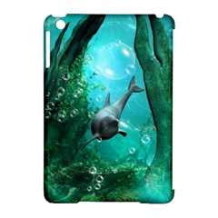 Wonderful Dolphin Apple Ipad Mini Hardshell Case (compatible With Smart Cover) by FantasyWorld7