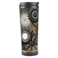Steampunk With Heart Travel Tumblers by FantasyWorld7