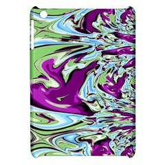 Purple, Green, And Blue Abstract Apple Ipad Mini Hardshell Case by digitaldivadesigns