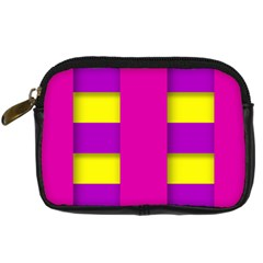 Florescent Pink Purple Abstract  Digital Camera Cases