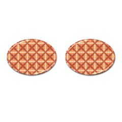 Cute Pattern Gifts Cufflinks (oval) by creativemom