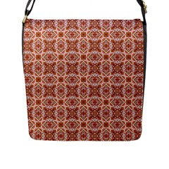 Cute Pattern Gifts Flap Messenger Bag (l)  by creativemom