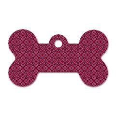 Cute Pattern Gifts Dog Tag Bone (one Side) by creativemom