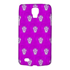 Skull Pattern Hot Pink Galaxy S4 Active by MoreColorsinLife