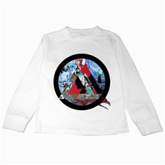 Somewhere Not Here Kids Long Sleeve T Shirts by Lab80