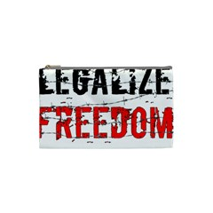 Legalize Freedom Cosmetic Bag (small)  by Lab80