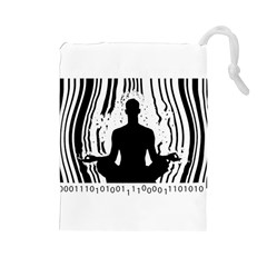 Break Free ! Drawstring Pouches (large)  by Lab80