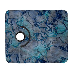 Marbled Lava Blue Samsung Galaxy S  Iii Flip 360 Case by MoreColorsinLife