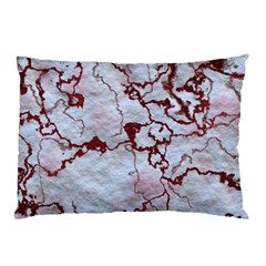 Marbled Lava Red Pillow Cases by MoreColorsinLife