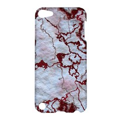 Marbled Lava Red Apple Ipod Touch 5 Hardshell Case by MoreColorsinLife