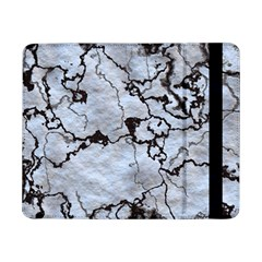 Marbled Lava White Black Samsung Galaxy Tab Pro 8 4  Flip Case by MoreColorsinLife