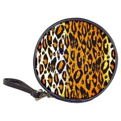 Cheetah Abstract Pattern  Classic 20 Cd Wallets