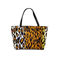 Cheetah Abstract Pattern  Shoulder Handbags