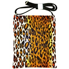 Cheetah Abstract Pattern  Shoulder Sling Bags