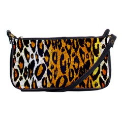 Cheetah Abstract Pattern  Shoulder Clutch Bags by OCDesignss