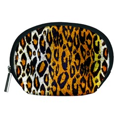 Cheetah Abstract Pattern  Accessory Pouches (medium)