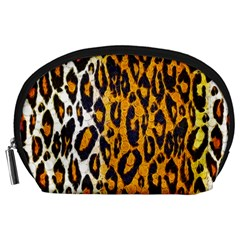 Cheetah Abstract Pattern  Accessory Pouches (large)  by OCDesignss