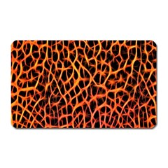 Lava Abstract Pattern  Magnet (rectangular)