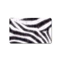 Black&white Zebra Abstract Pattern  Magnet (name Card) by OCDesignss