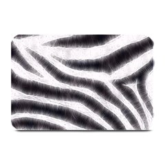 Black&white Zebra Abstract Pattern  Plate Mats by OCDesignss