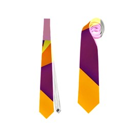 Geo Fun 8 Colorful Neckties (one Side)  by MoreColorsinLife