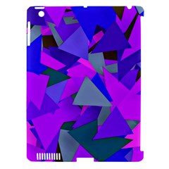 Geo Fun 8 Inky Blue Apple Ipad 3/4 Hardshell Case (compatible With Smart Cover) by MoreColorsinLife