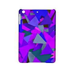 Geo Fun 8 Inky Blue Ipad Mini 2 Hardshell Cases by MoreColorsinLife