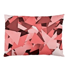 Geo Fun 8 Peach Pillow Cases by MoreColorsinLife