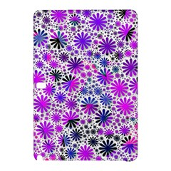 Lovely Allover Flower Shapes Pink Samsung Galaxy Tab Pro 12 2 Hardshell Case by MoreColorsinLife