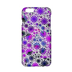 Lovely Allover Flower Shapes Pink Apple Iphone 6/6s Hardshell Case by MoreColorsinLife