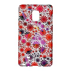 Lovely Allover Flower Shapes Galaxy Note Edge by MoreColorsinLife