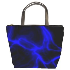 Cosmic Energy Blue Bucket Bags by ImpressiveMoments