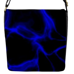 Cosmic Energy Blue Flap Messenger Bag (s) by ImpressiveMoments