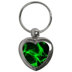 Cosmic Energy Green Key Chains (heart)