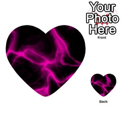Cosmic Energy Pink Multi-purpose Cards (heart)