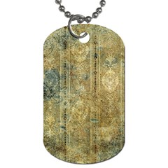 Beautiful  Decorative Vintage Design Dog Tag (two Sides) by FantasyWorld7