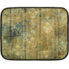 Beautiful  Decorative Vintage Design Double Sided Fleece Blanket (mini)  by FantasyWorld7