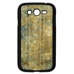 Beautiful  Decorative Vintage Design Samsung Galaxy Grand Duos I9082 Case (black) by FantasyWorld7
