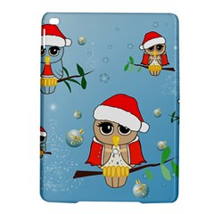 Funny, Cute Christmas Owls With Snowflakes Ipad Air 2 Hardshell Cases by FantasyWorld7