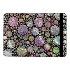 Sweet Allover 3d Flowers Samsung Galaxy Tab Pro 10 1  Flip Case by MoreColorsinLife