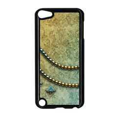 Elegant Vintage With Pearl Necklace Apple Ipod Touch 5 Case (black) by FantasyWorld7