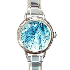 Special Fireworks, Aqua Round Italian Charm Watches by ImpressiveMoments