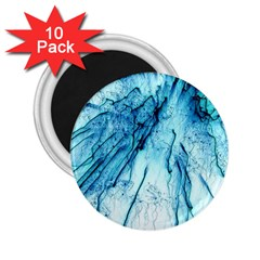Special Fireworks, Aqua 2 25  Magnets (10 Pack)  by ImpressiveMoments