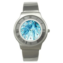 Special Fireworks, Aqua Stainless Steel Watches by ImpressiveMoments