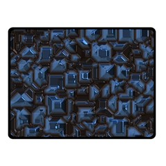 Metalart 23 Blue Double Sided Fleece Blanket (small)