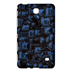 Metalart 23 Blue Samsung Galaxy Tab 4 (8 ) Hardshell Case  by MoreColorsinLife