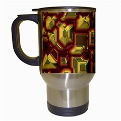 Metalart 23 Red Yellow Travel Mugs (white)
