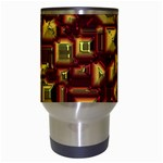 Metalart 23 Red Yellow Travel Mugs (White) Center
